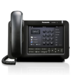 Panasonic KX-UT670 Wired handset LCD Black IP phoneZZZZZ], KX-UT670NE