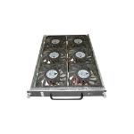 Cisco WS-C6506-E-FAN= hardware cooling accessory Black, Silver