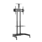 V7 TV Cart Height Adjustable with Tilt