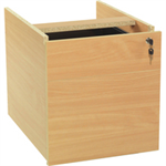 JEMINI FF JEMINI 2 DRAWER FIXED PEDESTAL BEECH