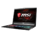 "MSI Gaming GS73VR 7RF(Stealth Pro 4K)-207UK 2.8GHz i7-7700HQ 17.3"" 3840 x 2160pixels Black Notebook"