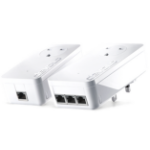 Devolo dLAN 1200 triple+ Starter Kit 1200Mbit/s Ethernet LAN White 2pc(s)
