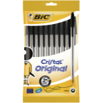 BIC 830864 Stick ballpoint pen Medium Black 10pc(s)