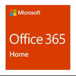 Microsoft Office 365 Home 1 Jahr(e) Italienisch