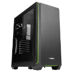 Antec P7 Window Midi-Tower Black, Green computer case