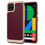 "Spigen Neo Hybrid mobiele telefoon behuizingen 14,5 cm (5.7"") Hoes Bordeaux rood"