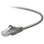 "Belkin RJ45 Cat5e Patch Cable, Snagless Molded, 7.6m networking cable Gray 299.2"" (7.6 m) U/UTP (UTP)"