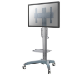 "Newstar Mobile LFD/Monitor/TV Trolley for 37-85"" screen, Height Adjustable - Black"