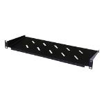 Cablenet 1u 200mm Cantilever Vented Shelf Black (20Kg)