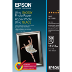 Epson Ultra Glossy Photo Paper - 13x18cm - 50 Vellen
