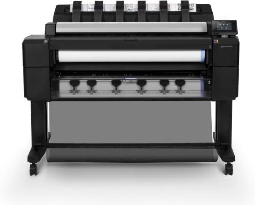 HP Designjet T2530 large format printer Thermal inkjet Colour 2400 x 1200 DPI A0 (841 x 1189 mm) Ethernet LAN