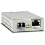 Allied Telesis AT-MMC2000/LC-60 network media converter 1000 Mbit/s 850 nm Multi-mode Silver
