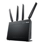 ASUS (4G-AC68U) AC1900 (600+1300) Wireless Dual Band 4G LTE Router 4-Port WAN Port USB 3.0