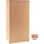 Jemini 4 Shelf Beech 2000mm Cupboard KF838427