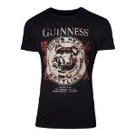 GUINNESS Dog's Head Bottling T-Shirt, Male, Medium, Black (TS308624GNS-M)
