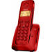 Gigaset A120 Teléfono DECT Rojo Identificador de llamadas