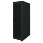 "Intellinet 19"" Server Cabinet, 42U, 2033 (h) x 600 (w) x 1000 (d) mm, IP20-rated housing, Max 1500kg, Flatpack, Black"