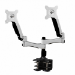 "Amer AMR2AC 24"" Clamp Black, Silver flat panel desk mount"