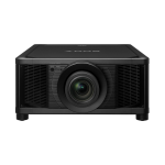 Sony VPL-VW5000 data projector 5000 ANSI lumens SXRD DCI 4K (4096 x 2160) 3D Desktop projector Black