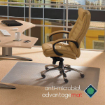 FLOORTEX ANTI-MICROBIAL CHAIRMAT 90 X 120CM