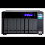 QNAP TVS-872X NAS Tower Ethernet LAN Anthracite i3-8100T