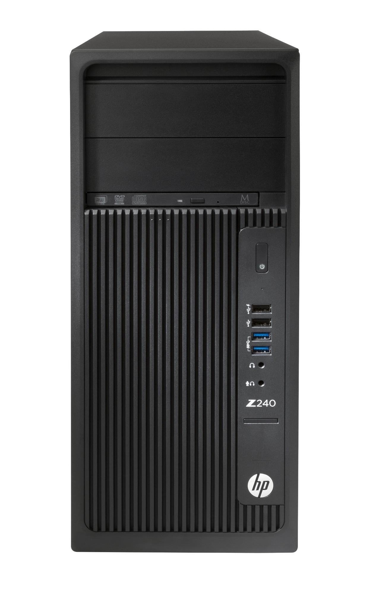HP Workstation Z240 Tower Y3Y83EA#ABU  Core i7-7700K 16GB 256GB SSD Win 10 Pro