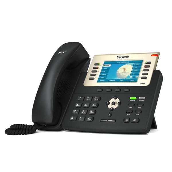 Yealink SIP-T29G Wired handset Black IP phone