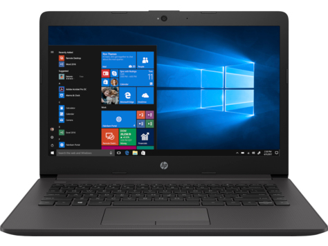 "HP 240 G7 Zwart Notebook 35,6 cm (14"") 1366 x 768 Pixels Zevende generatie Intel® Core™ i3 i3-7020U 4 GB DDR4-SDRAM 500 GB HDD"