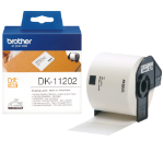Brother DK-11202 P-Touch Etikettes, 62mm x 100mm, 300