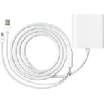 Apple MB571Z/A Mini DisplayPort, USB DVI-D, USB White cable interface/gender adapter