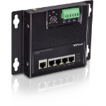 Trendnet TI-PG50F network switch Managed Black Power over Ethernet (PoE)