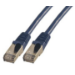 MCL RJ45 CAT 6 A F/UTP LSZH 5m cable de red Azul