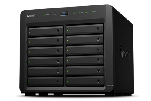 Synology DS3617XS24TBSEA DiskStation DS3617XS 24TB IronWolf PRO 12 Bays NAS