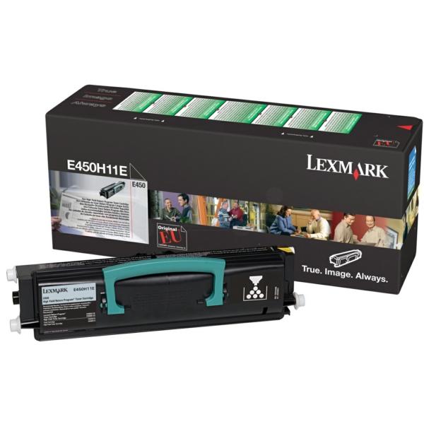 Lexmark E450H11E Toner black, 11K pages @ 5% coverage