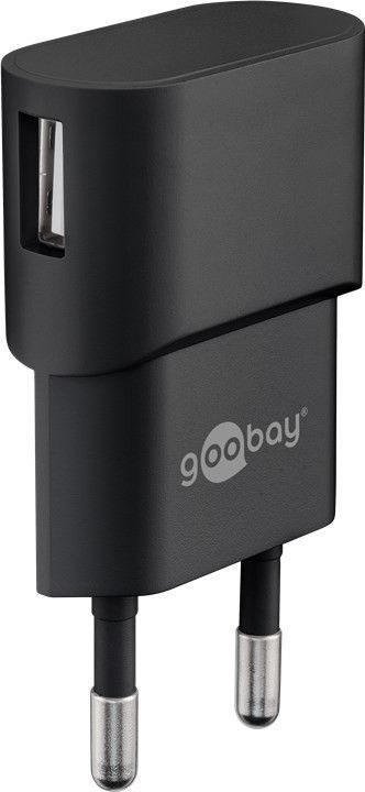 Goobay 44947 mobile device charger Indoor Black