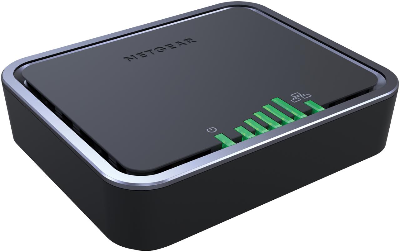 Netgear LB1111 Ethernet LAN Black wired router | Chert