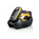 Datalogic PowerScan PBT9500 Handheld bar code reader Laser Black,Yellow