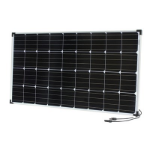 Generic 12V 120W Monocrystalline Solar Panel