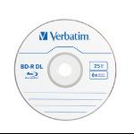 Verbatim BD R DL 6X 50GB BD-R DL 25pcs