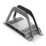 ALOGIC ALDHDLR notebook dock/port replicator Wired USB 3.2 Gen 1 (3.1 Gen 1) Type-C Gray