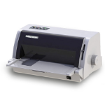 DASCOM Americas 1330 450cps 360 x 360DPI White dot matrix printer