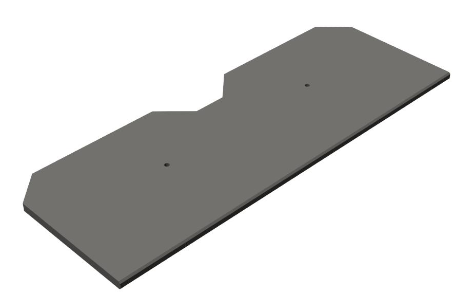 Zebra CS-CAB-SHV-SS rack accessory Rack shelf