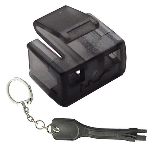 Cablenet RJ45 Security Block + Tool Black (PK 25)
