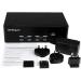 StarTech.com 4-port KVM Switch with Dual VGA - USB 2.0 SV431DVGAU2A