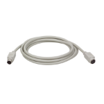 Tripp Lite PS/2 Keyboard or Mouse Extension Cable (Mini-DIN6 M/F), 4.57 m (15-ft.)