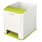 Leitz 53631064 Polystyrene Green, White pen/pencil holder