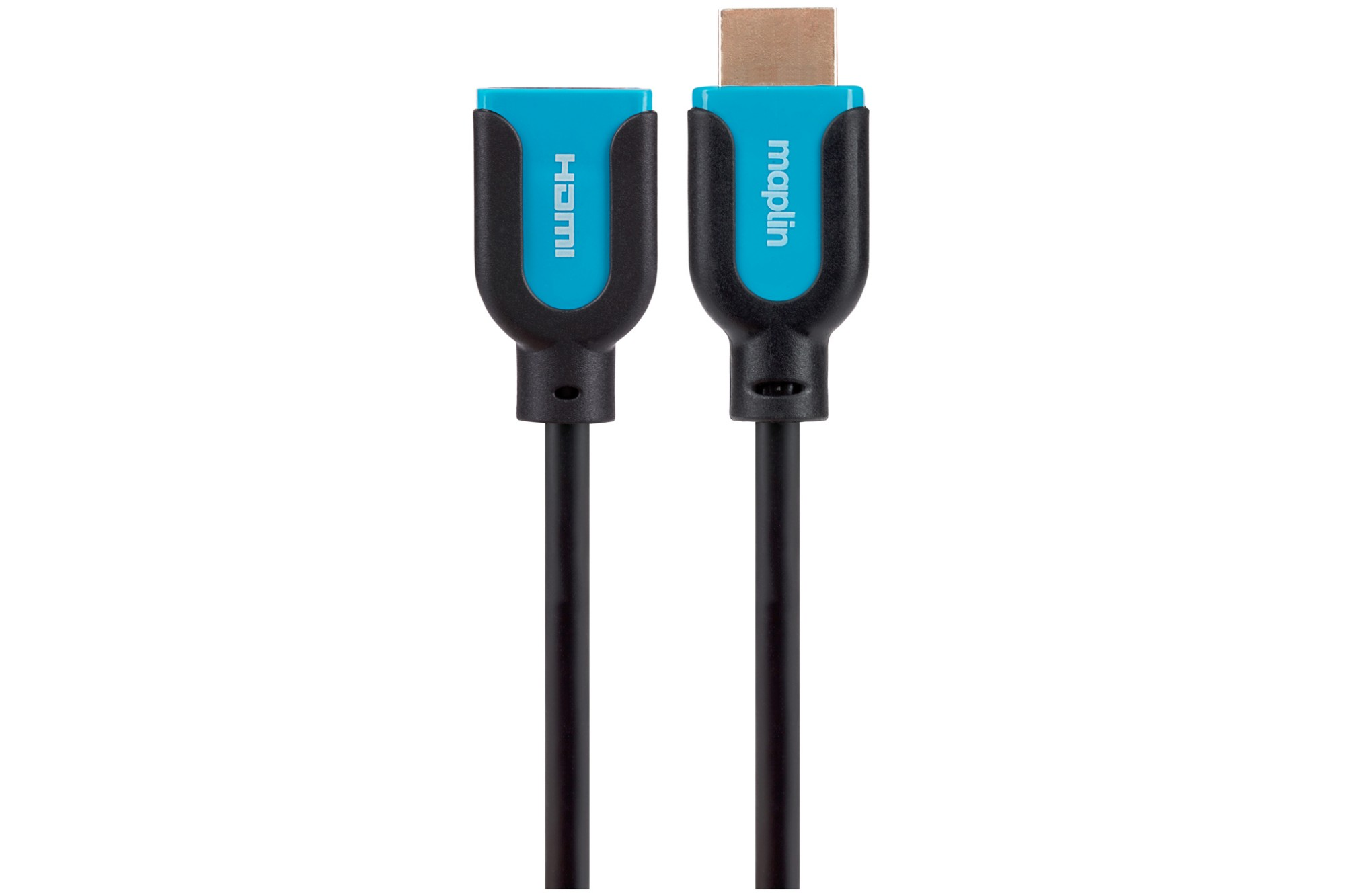 MAPLIN Premium HDMI Extension Male to Female Connection Cable 0.75m