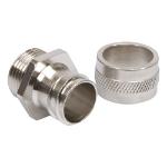 Cablenet 25mm Fixed Steel Gland & Locknut