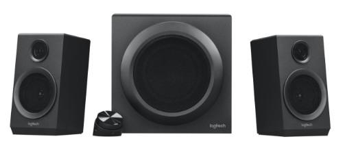 Logitech Z333 Speaker System with Subwoofer 40 W Black 2.1 channels