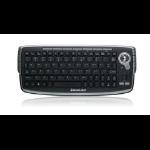 iogear GKM681RW4 RF Wireless QWERTY French Black keyboard